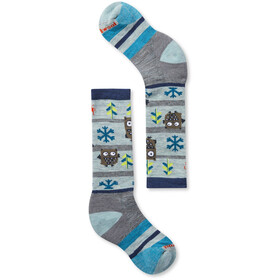 Smartwool Wintersport Owl Socken Kinder lunar grey